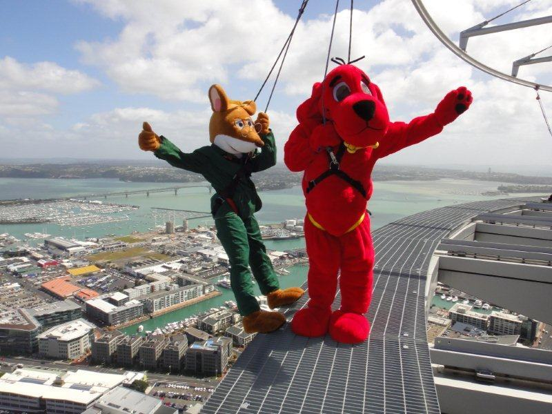 Nhảy bungy ở Auckland